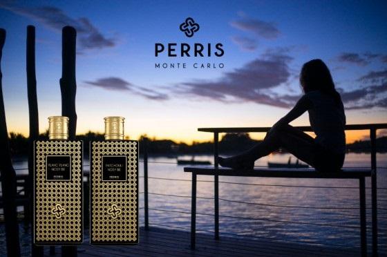 Reklama perfum Perris Monte Carlo z serii Nosy Be