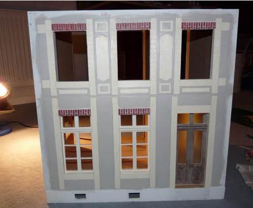 Maison de Léa,Maquette,Miniature