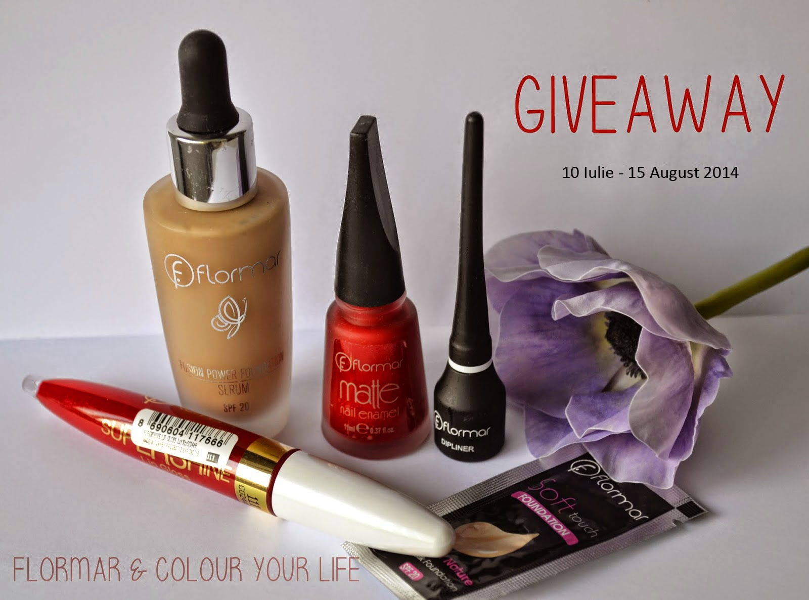 Concurs Flormar si Colour Your Life