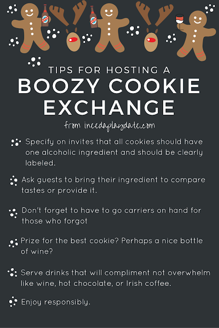 Tips for hosting a boozy cookie exchange