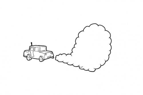 COLOREA TUS DIBUJOS: Dibujos de Contaminación para colorear