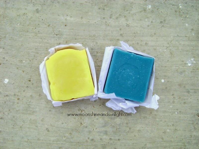 Budget Handmade soaps by Lilac Soaps   Shararat and Morning Raga Review