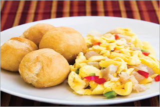 Jamaica Ackee and Salt Fish