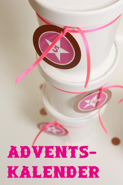 Frollein Pfau, creartiv.box, Adventskalender, Neon, Pink, Verlosung