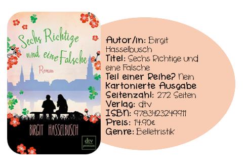 http://www.amazon.de/Sechs-Richtige-eine-Falsche-Roman/dp/3423249919/ref=sr_1_1?ie=UTF8&qid=1388138643&sr=8-1&keywords=sechs+richtige+und+eine+falsche