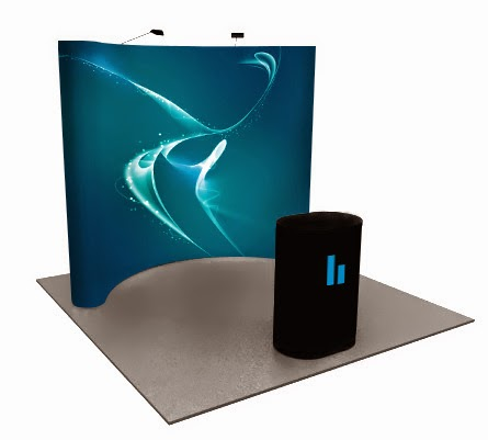Fabric Pop Up Display Stands