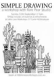 LINK HERE TO GET TICKETS TO MY SIMPLE DRAWING WORKSHOP IN SYDNEY