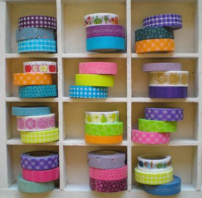 El tocador de lunaria a decorar con washi tape - Decorar con washi tape ...