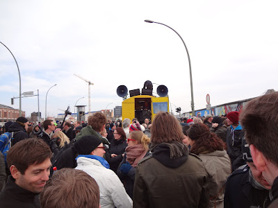 Protest Berlin Wall