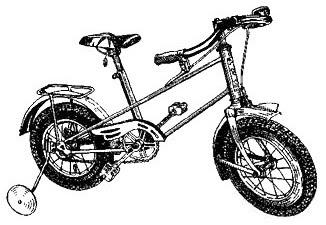 Детский велосипед КВД