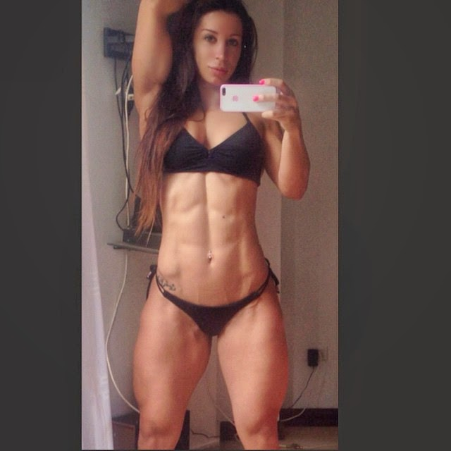 Athletic Muscle Babe 60