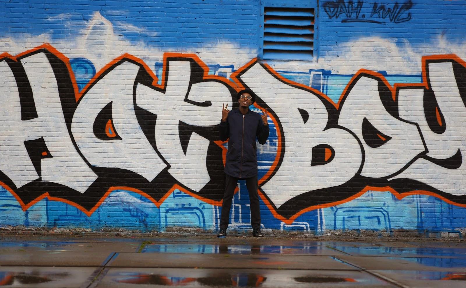 Dapper Hot Boy with Blue  Long Bomber wefashion