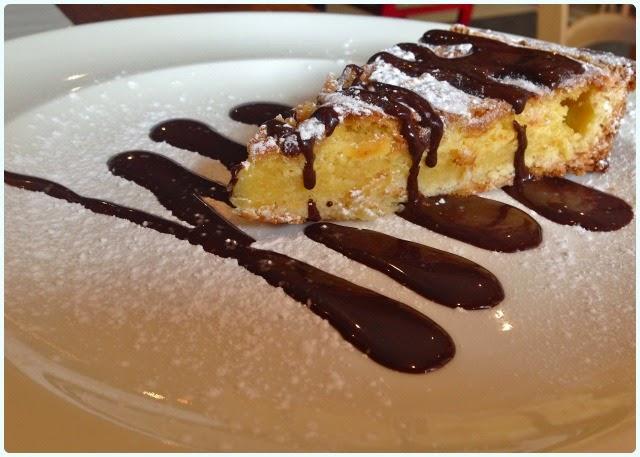 Salvi's Cucina, Manchester - Lemon Cake