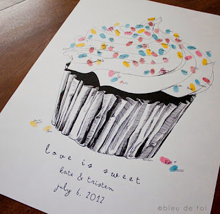 cupcake de digitais