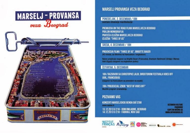 Marselj Provansa veza Beograd