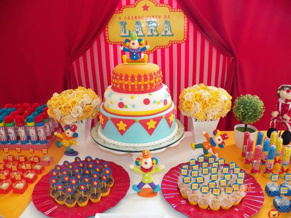 festa infantil circus bh