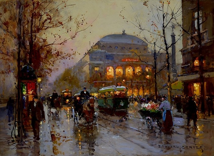 Édouard Cortès 1882-1969   French post-impressionist painter