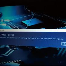 """Mengatasi """"Critical Error"""" Saat Windows 10 di Mulai Setelah StartUp"""