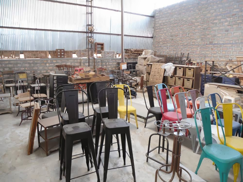 Vintage Industrial Furniture Manufacturing - Indian Furniture: Vintage Industrial Furniture Manufacturing