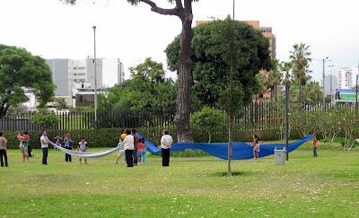 Jardins do Museu de Arte Contemporânea de Lima