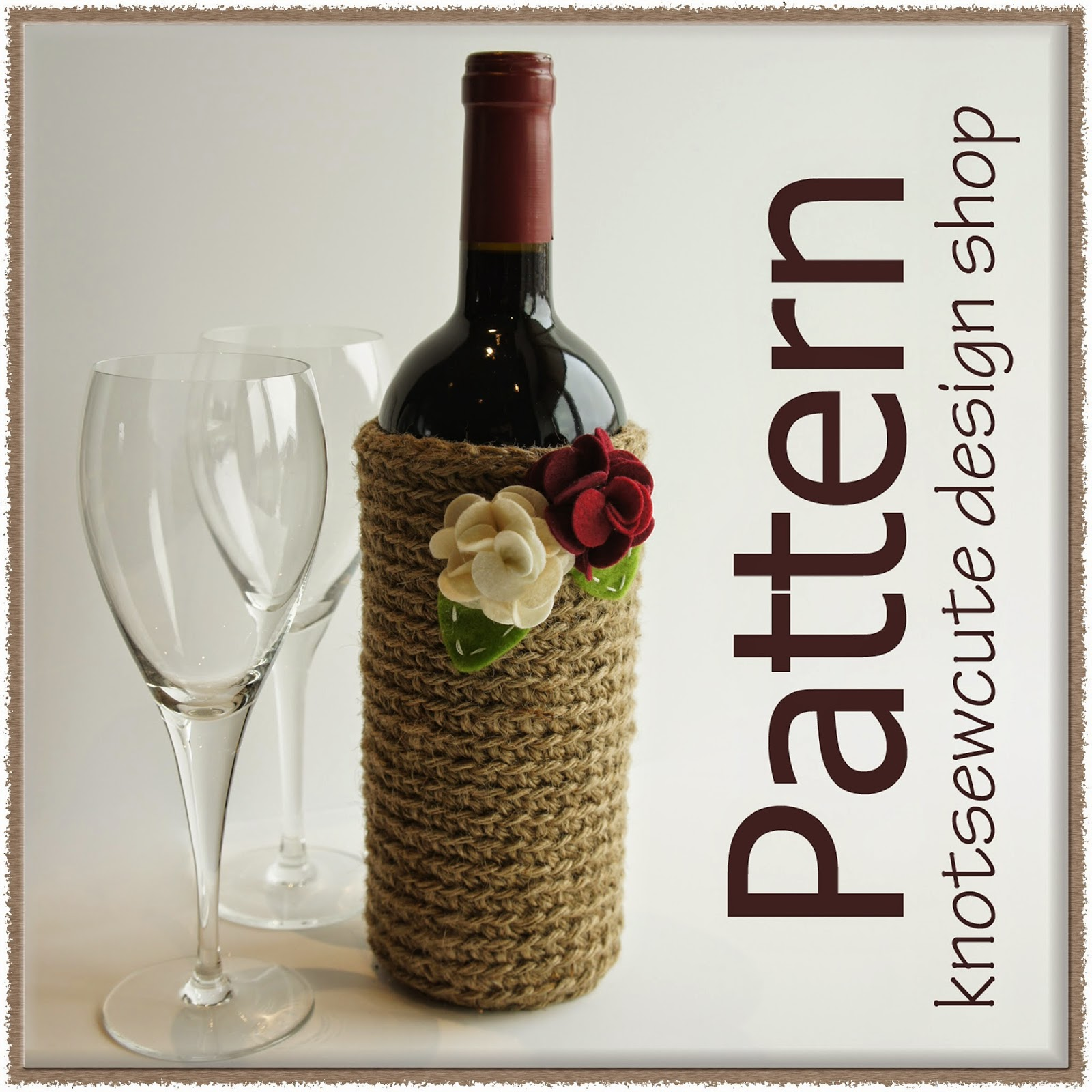 http://www.ravelry.com/patterns/library/jute-wine-bottle-sleeve