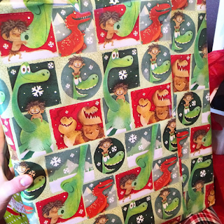 pixar wrapping paper