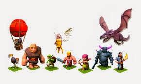 Jenis Dan Karakter Pasukan Clash Of Clans