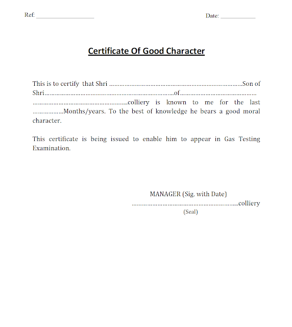 Sample character certificate for job images download cv letter character certificate for gas testing exam gujarats mining untitled altavistaventures images yadclub Image collections