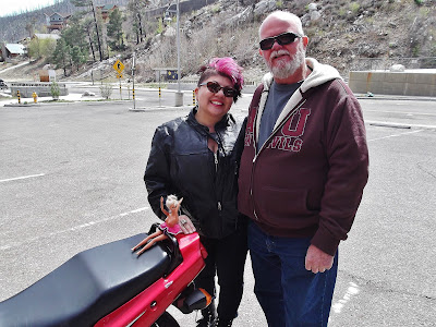 Biker-Chick-Mt-Lemmon-Arizona
