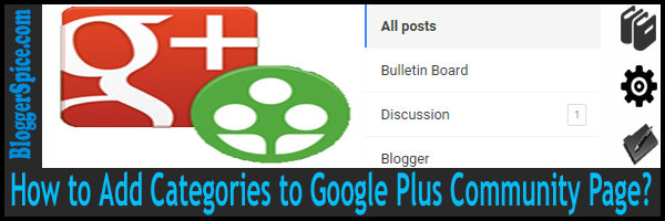 Google Plus Community Pages