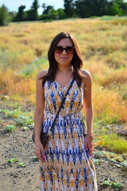 Maxi Dress and Sunnies