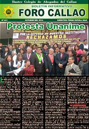 """""""FORO CALLAO"""" Nº 11 - OCTUBRE 2014"""