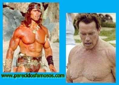 Arnold Schwarzenegger Antes y Después