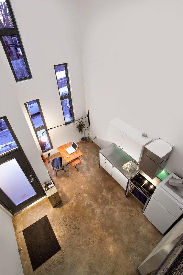 Interior Menawan moderen di Rumah Kecil Minimalis