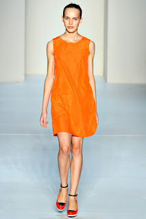 Marc by Marc Jacobs orange shift dress