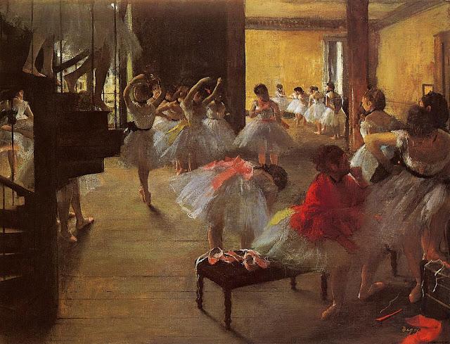 dance class,edgar degas,ballerina