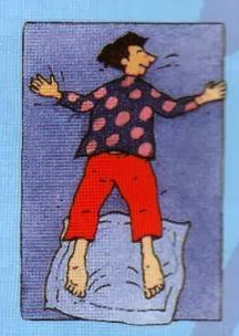 Tes kepribadian Posisi Tidur