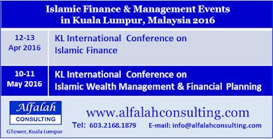 Islamic finance events in Kuala Lumpur 2016