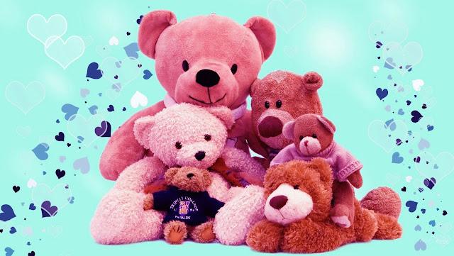 teddy day 2016 many teddy bears, Teddy day 2016 ecard for him or her