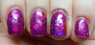 Femme Fatale Other Side of the World Swatch