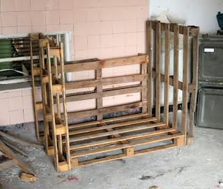 New wood storage