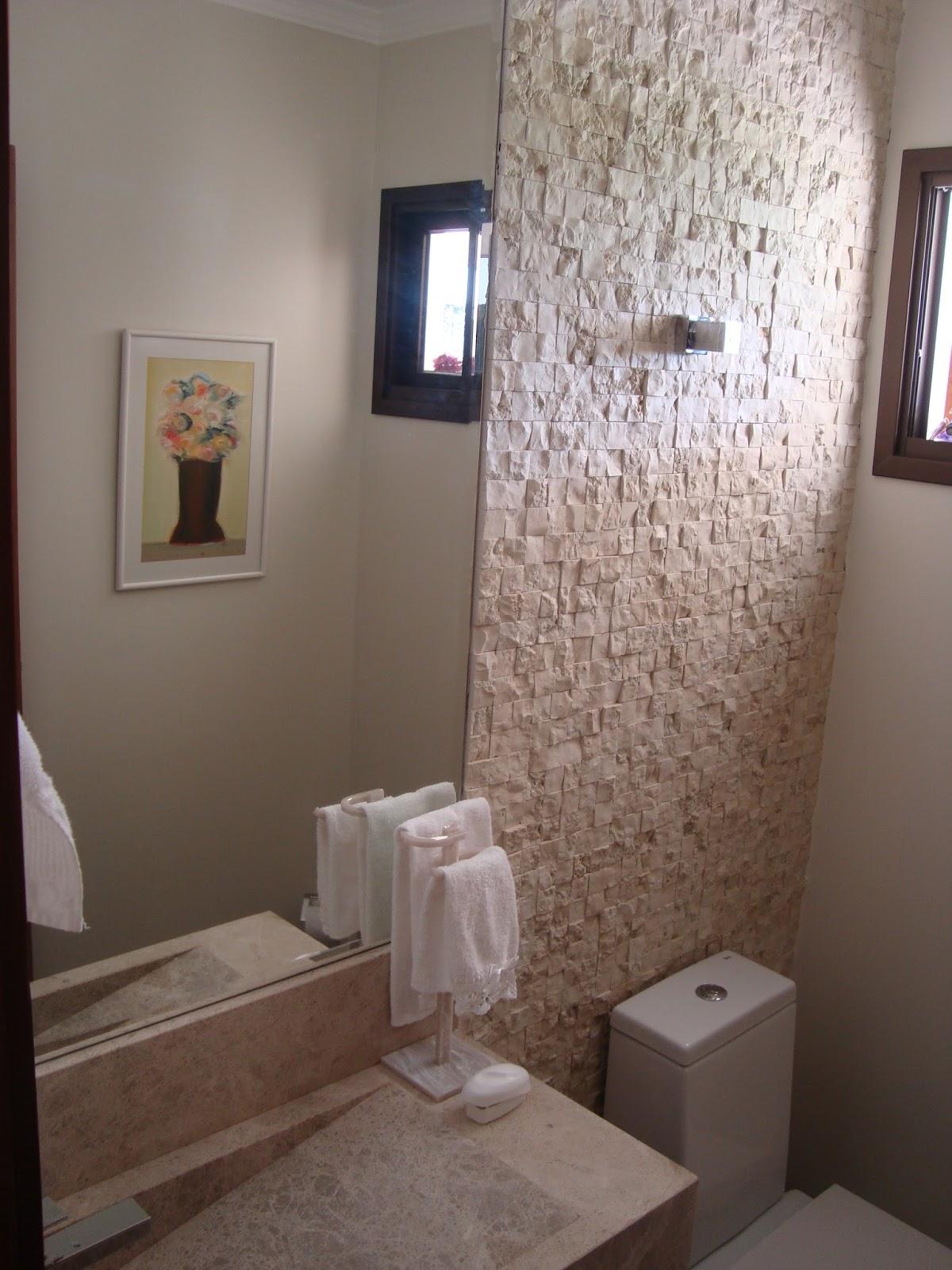 Banheiro 3. Lavatório mármore bege Bahia impermeabilizado. Mosaico  #3F475F 1200x1600 Bancada De Banheiro Marmore Bege Bahia