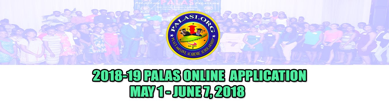 © Peace and Love Academic Scholarship, Inc. (PALAS)