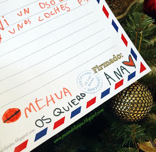 Carta a los Reyes Magos escrita por LittleAna