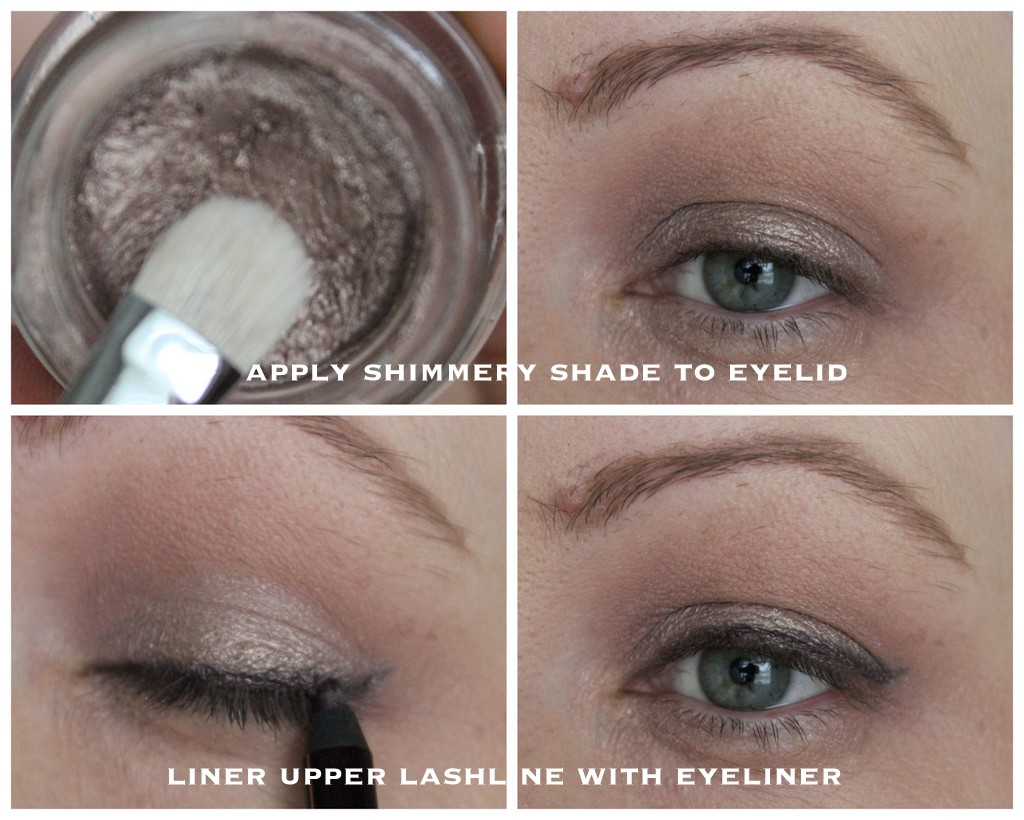 Quick and easy shimmery neutral eye makeup tutorial lovely ive spoken about max factors excess shimmer eyeshadows recently and my go to shade is most definitely copper which is really taupe baditri Images