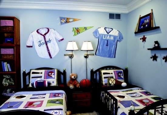 Nội thất với phong cách thể thao cho phòng ngủ của bé 10