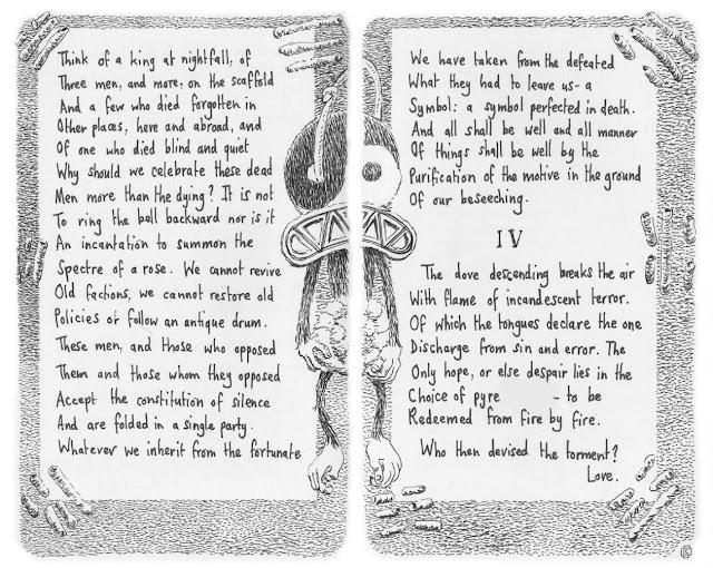 four quartets, t.s.eliot, little gidding, prose poem, cloudpine451, chris cavill