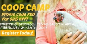 JOIN ME AT COOP DREAMS COOP CAMP!