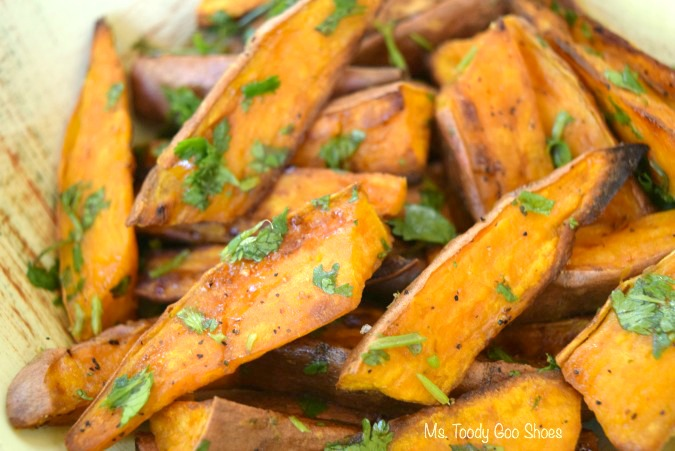 Lime-Cilantro Sweet Potatoes: These are the best roasted sweet ...