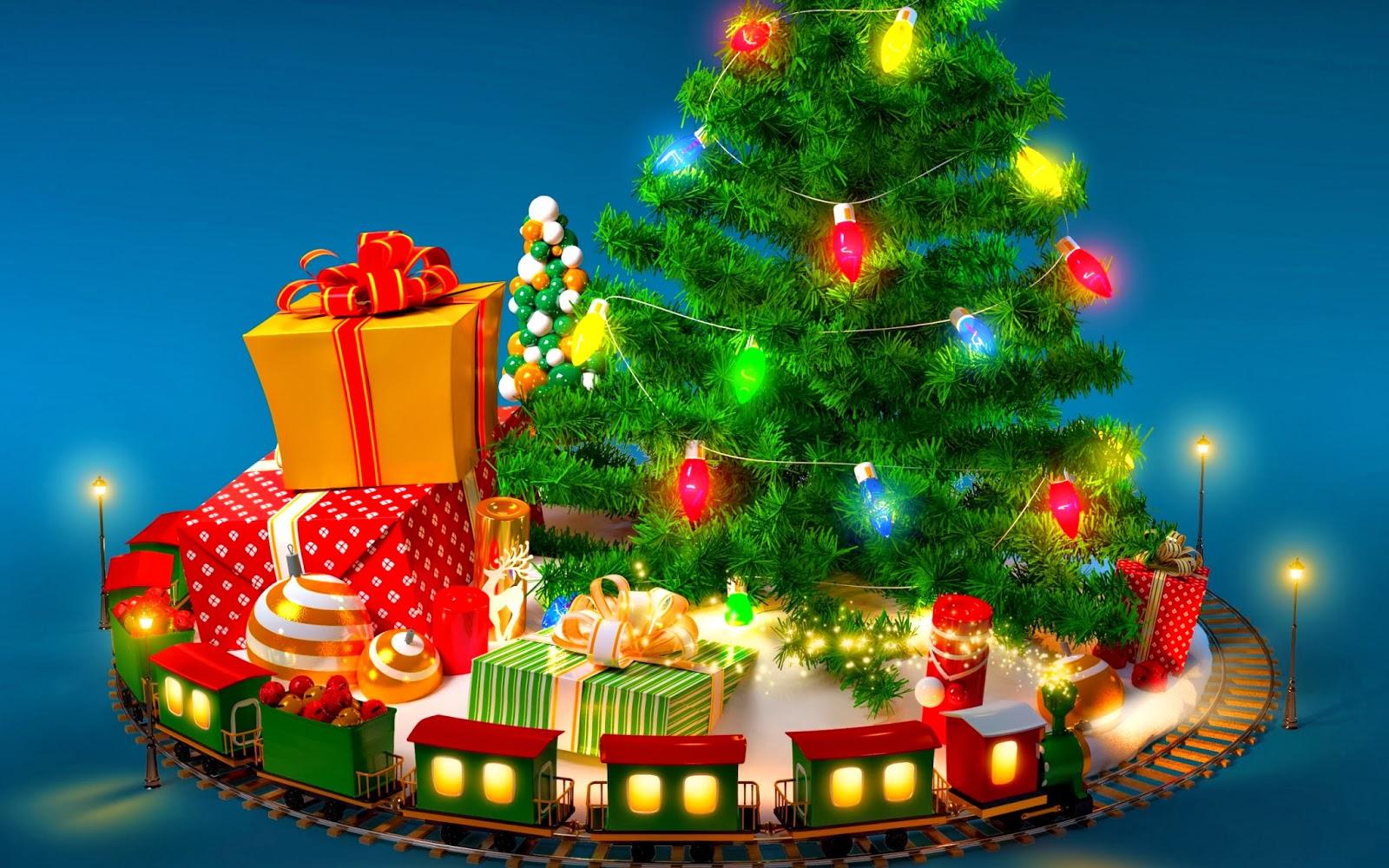 Foto Frontera: 22 imágenes bonitas de árboles de Navidad